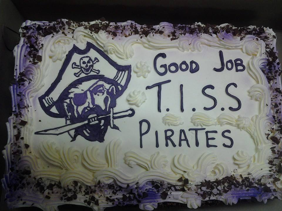 Pirate Speciality Cake